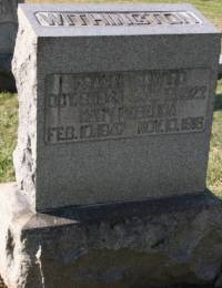 Nace/Francis Edward and Mary Rebecca Withington Tombstone.JPG