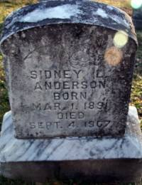 Nace/Sidney Anderson Tombstone.JPG